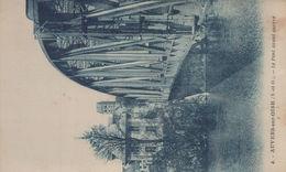 Auvers-sur-Oise : Le Pont Avant Guerre - Auvers Sur Oise