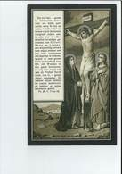 ANNA MARIA VERSTRAETEN ECHTG FRANCISCUS EMIEL DE PRETER ° WERCHTER ( ROTSELAAR ) 1869 + 1912 - Images Religieuses