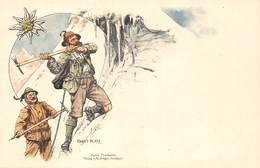 Illustrateur Ernst PLATZ- Alpine Postkarten Vergag V.M.Seeger,Stuttgart - Altre Illustrazioni
