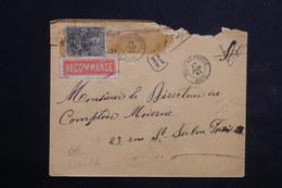 HAITI - Enveloppe En Recommandé De Port Au Prince Pour Paris En 1900 , Dans L 'état - L 23516 - Haïti