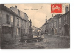 CPA 70 Jussey Rue Beljeuse - Frankreich
