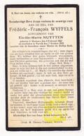 DP Frédéric F. Wyffels ° Geluwe 1867 † Wervik 1928 X Elodie M. Nuytten - Images Religieuses