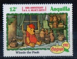 Anguilla 1982 - Natale Winnie The Pooh Christmas MNH ** - Natale