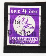 Post148 SCHWEDEN LOKALPOST HÄLSINGBORG Used / Gestempelt SIEHE ABBILDUNG - Ortsausgaben