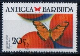 Antigua Barbuda 1988 - Farfalle Butterflies Dione Juno - Farfalle