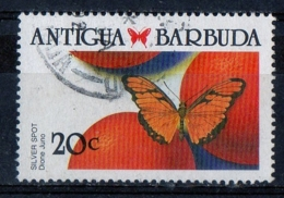 Antigua Barbuda 1988 - Farfalle Butterflies Dione Juno - Antigua E Barbuda (1981-...)
