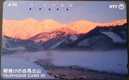 Telefonkarte Japan - Landschaft - 271-034 - Japan