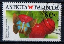 Antigua Barbuda 1988 - Farfalle Butterflies Blue-Backed Skipper - Farfalle