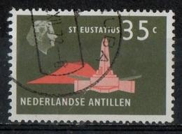 Antille Olandesi Netherlands Antilles 1958 - St. Eustatius Obelisco Di De Ruyter Obelisk - Curaçao, Antilles Neérlandaises, Aruba