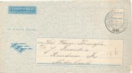 Nederlands Indië - 1949 - Militair Luchtpostblad G12b Van Veldpost Semarang Naar Koudum / Nederland - Indes Néerlandaises