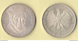 Germania 5 Marks 1977 F. Gauss  Deutsch Bundesrepublik - [ 7] 1949-… : RFA - Rep. Fed. Tedesca