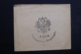 """FRANCE - Enveloppe Décorée """" Correspondance Impériale """" ( Compiègne ) - L 23517 - 1801-1848: Precursors XIX"""