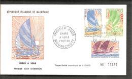 FDC 1968 CHARS A VOILE - Mauritanie (1960-...)