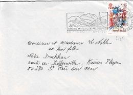 TP N° 2085 Seul  Sur Enveloppe De Lourdes - 1961-....