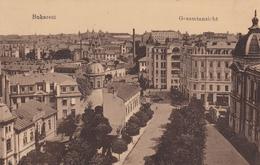 Romania Bukarest General View 1917 Feldpost - Roumanie