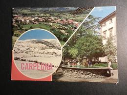 19885) PESARO CARPEGNA VEDUTE VIAGGIATA - Pesaro