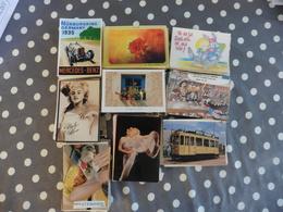 LOT  DE  550 CARTES  POSTALES  FANTAISIES - Cartes Postales