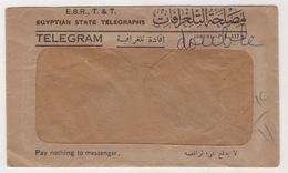EGYPTIAN STATE TELEGRAPHS,TELEGRAM 1940-1941 - Ägypten