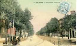 N°70388 -cpa Le Havre -boulevard François 1er- - Le Havre