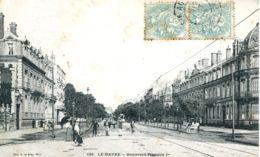 N°70389 -cpa Le Havre -boulevard François 1er- - Le Havre