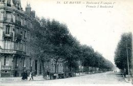 N°70391 -cpa Le Havre -boulevard François 1er- - Le Havre