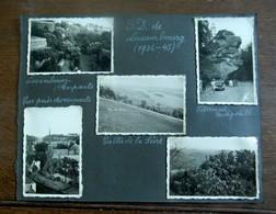 9 Stuks  Oude Rond 1940                  Foto's Van   G . D . De LUXEMBOURG - Echternach