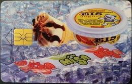 Telefonkarte Tschechien - Lebensmittel - Eis  - 44/08.96 - Tschechische Rep.