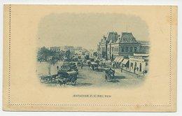 Postal Stationery Argentina - Muestra / Specimen Horse Tram - Trains