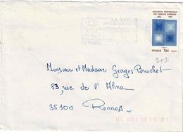 TP N° 2091 Seul Sur Enveloppe De La Baule - 1961-....