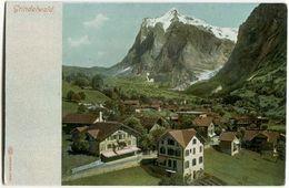 Grindelwald (3579 Gebr.Wehrli, Kilchberg, Zürich) Ca.100 ++  Jahre Alt (?) Ungelaufen - Non Circulé - BE Berne