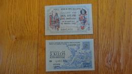 -Billets De Necessite Chambre Des Metiers Aveyron Section Fonte Fer Et Acier 1948-1949 - Chambre De Commerce