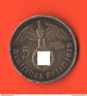 Germania 5 Reichsmarck 1936 A Troisième III° Deutsches Reich - [ 4] 1933-1945 : Third Reich