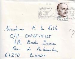 TP N° 2096 Seul Sur Enveloppe De Montargis - Postmark Collection (Covers)