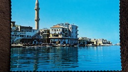 CPSM LIBAN SAIDA LE VIEUX PORT THE OLD HARBOUR ED ACE P O B BEYROUTH - Liban