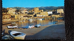 CPSM LIBAN BYBLOS LE PORT THE HARBOUR ED ACE P O B BEYROUTH - Liban
