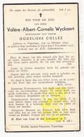 DP Valère Alb. Wyckaert ° Poperinge 1892 † Ieper 1937 X Godelieve Collez - Images Religieuses