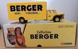CORGI FOURGON BERNARD TYPE 110 72011-COFFRET COLLECTION BERGER - Corgi Toys