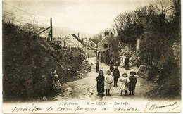 8156  -  Oise -  CREIL  :  LES  TUFFS     ( Rare)  -               Circulée  En 1904 - Creil