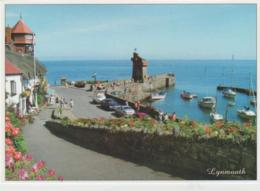 Postcard - Lynmouth Harbour From Mars Hill, Lynmouth Exmoor - Unused Very Good - Postcards