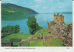 Postcard - Urquhart Castle And Loch Ness, Inverness - Shire - Unused Very Good - Postcards