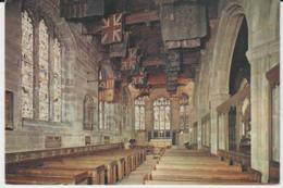 Postcard - Churches - Lancaster Priory Church - The King's Own Memorial Chapel Unused Very Good - Postcards