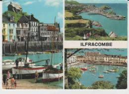 Postcard - Ilfracombe Three Views - Posted But Date Obscured Good - Postcards