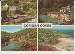 Postcard - Cornish Coves Four Views - Posted In 1986  Very Good - Postcards