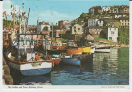 Postcard - The Harbour And Town, Brixham, Devon, Card No..2dc887 - Unused Very Good - Postcards