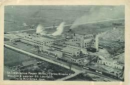 Pays Div- Ref R206- Canada - St Lawrence Paper Mills - Trois Rivieres - Moulin A Papier St Laurent - Quebec - - Trois-Rivières