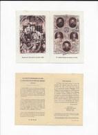 Lot De 2 Images Du Massacre En Chine Des Jésuites Martyrs Des Boxeurs - Religion & Esotericism