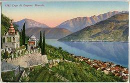 5141 Lago Di Lugano - Morcote (Paul Bender Zollikon - Zürich) - Ca.100 ++ Jahre Alt (?) Ungelaufen - Non Circulé - TI Tessin