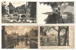 (G050) BRUGGE-BRUGES - Le Lac D'Amour - Het Minnewater - Pont Du Beguinage - Begijnhofbrug - Brugge