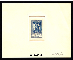 FRANCE - N° 904 - SAINT NICOLAS - IMAGERIE D'EPINAL - EPREUVE DE COULEUR N°1120 Lx OUTREMER CLAIR - LUXE - Artist Proofs