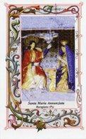Baragiano (Potenza) - Santino SANTA MARIA ANNUNZIATA - PERFETTO R1 - Religione & Esoterismo
